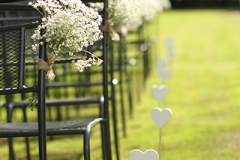 Cérémonie champetre romantique
