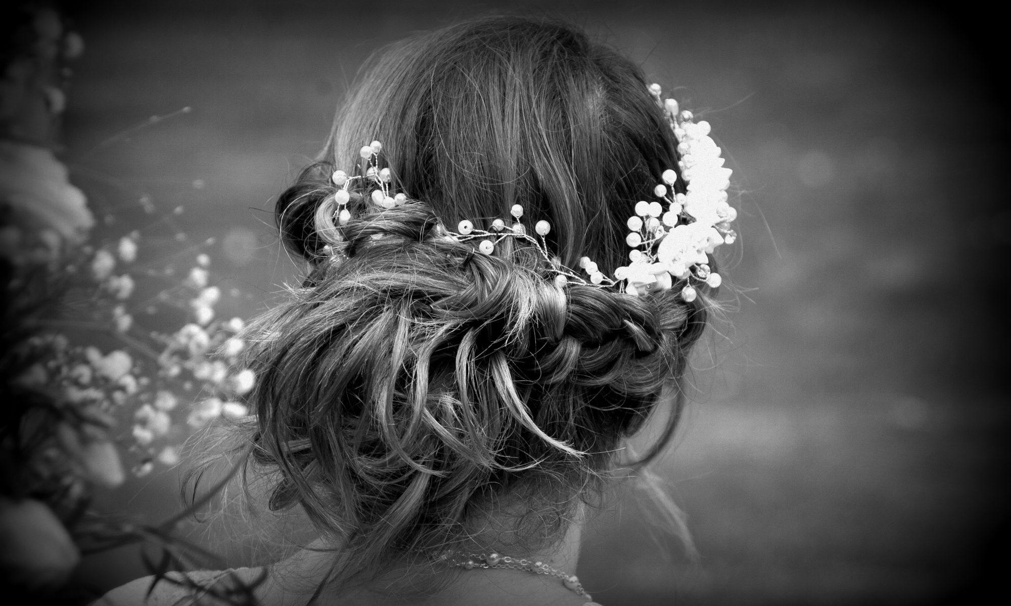 mariée normandie noir et blanc
