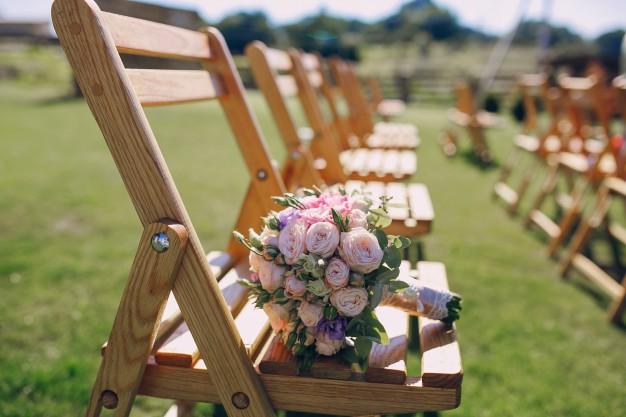 mariage ceremonie exterieur