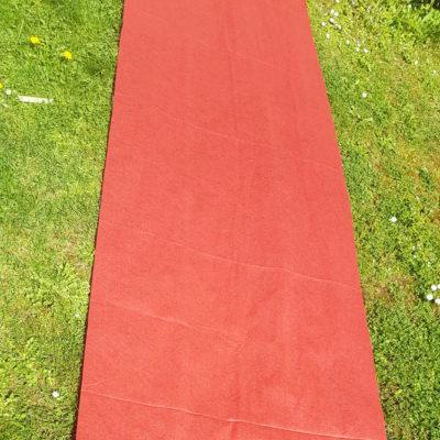 Tapis rouge 5m x1m