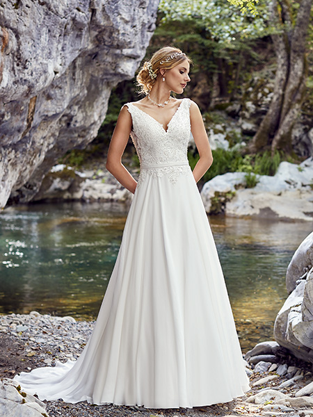Robe palerme face point mariage