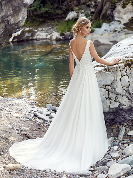 robe palerme dos point mariage