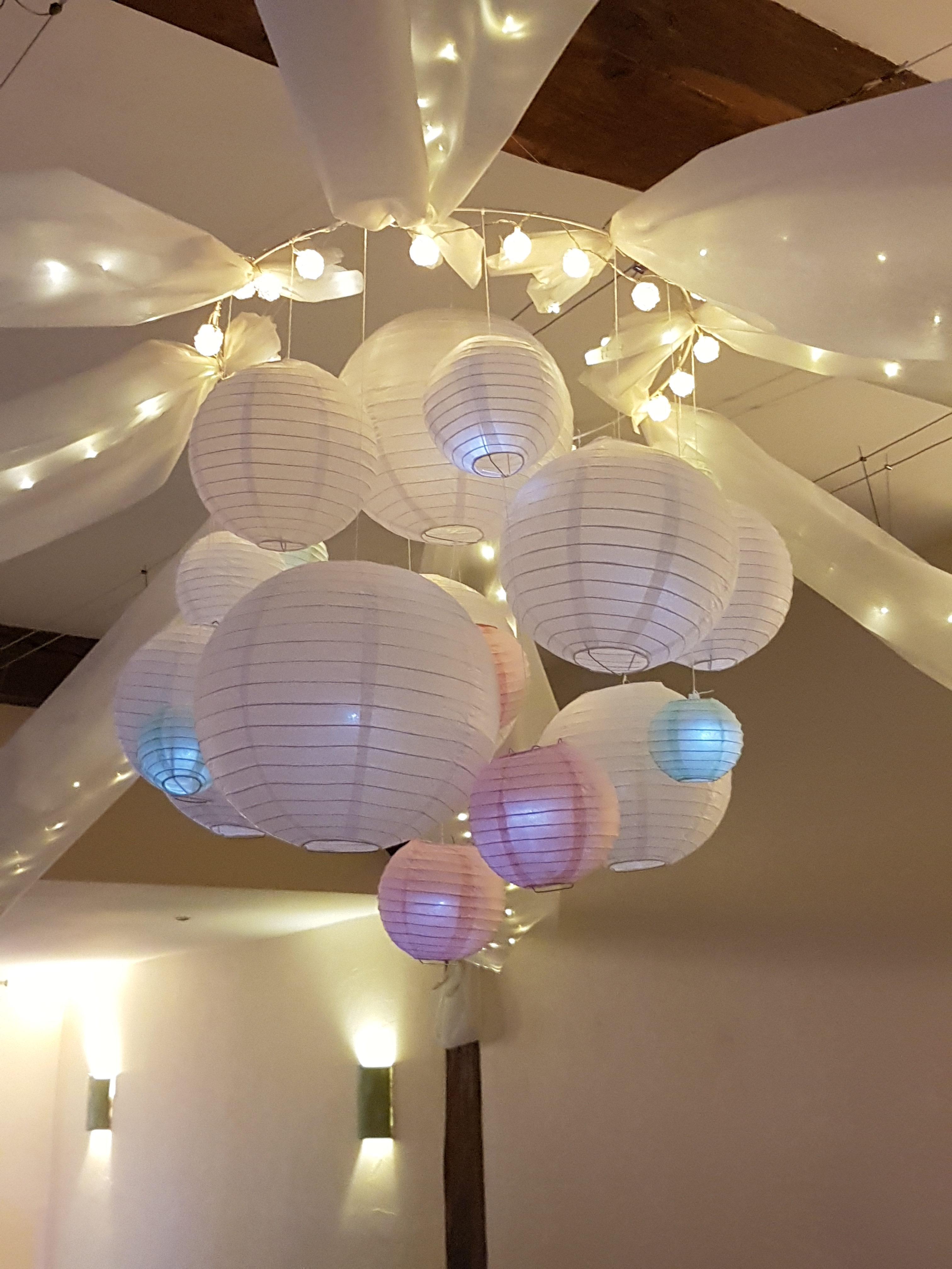 Lanterne boule chinoise