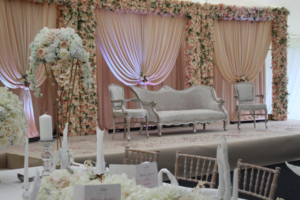 thème décoration salle mariage