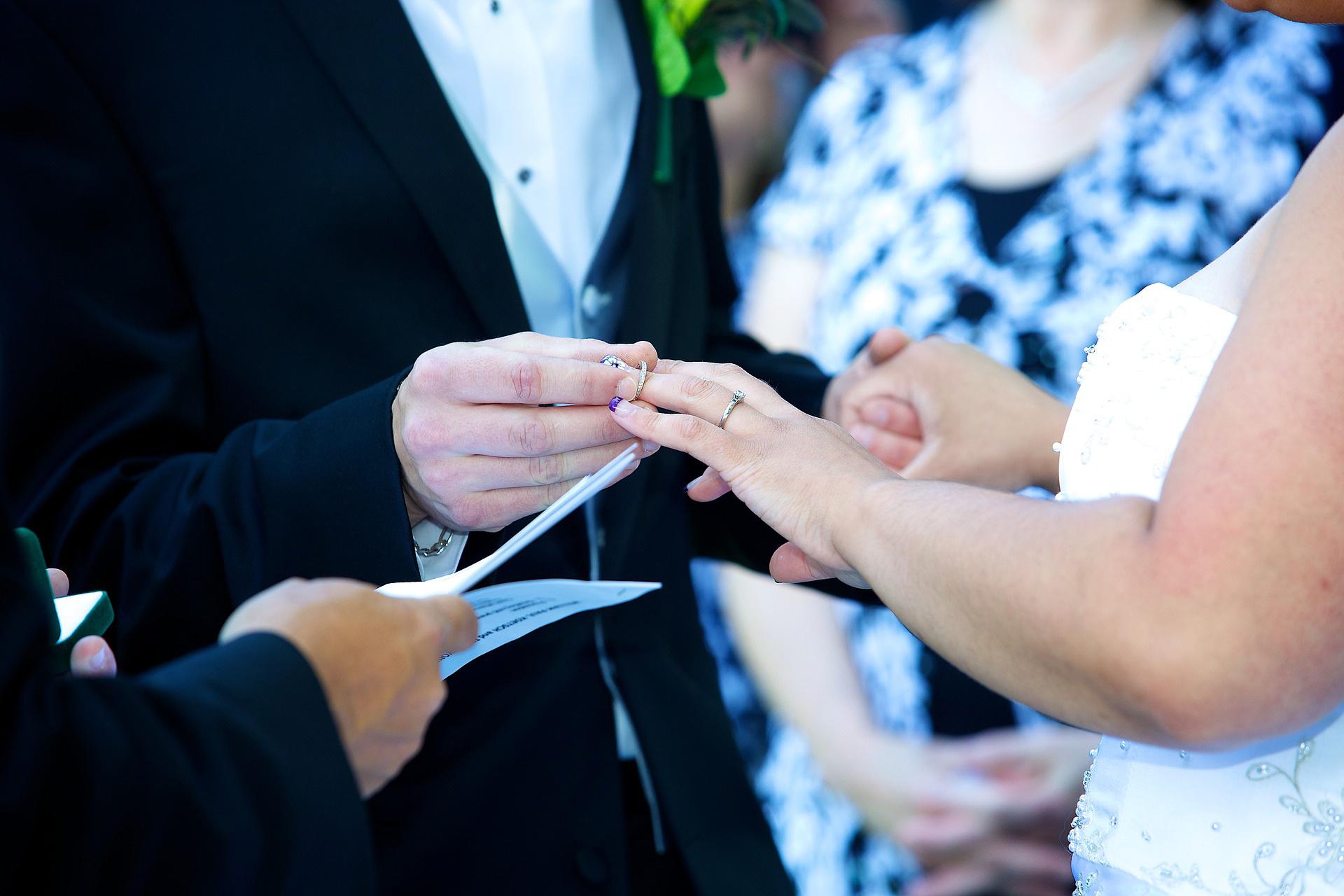 célébrer un mariage