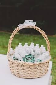 bouteille d'eau invité mariage été